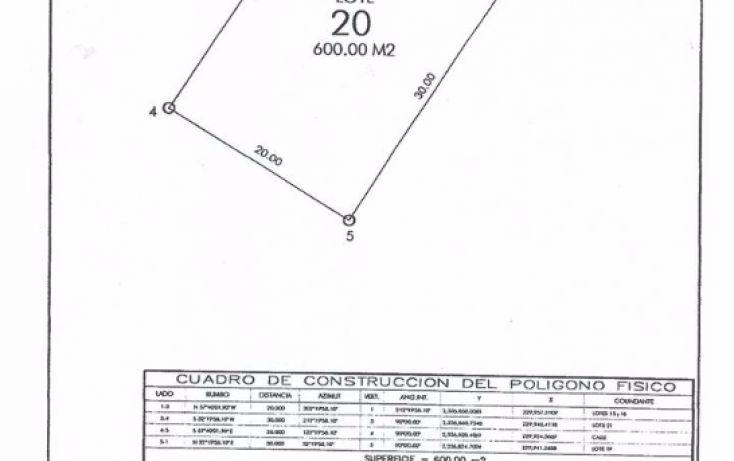Foto de terreno habitacional en venta en, yucatan, mérida, yucatán, 1552154 no 01
