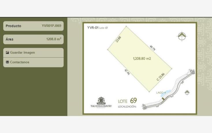Foto de terreno habitacional en venta en  , yucatan, mérida, yucatán, 1630052 No. 01