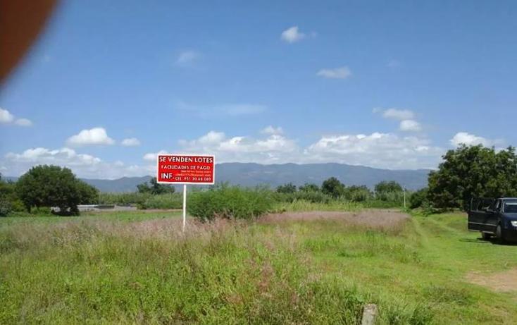 Foto de terreno habitacional en venta en  , zaachila, villa de zaachila, oaxaca, 541979 No. 01