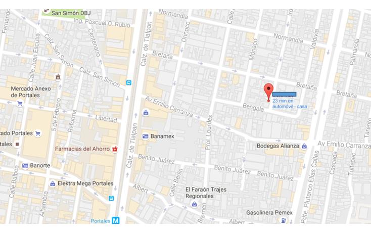 Foto de terreno habitacional en venta en  , zacahuitzco, benito juárez, distrito federal, 1045375 No. 02