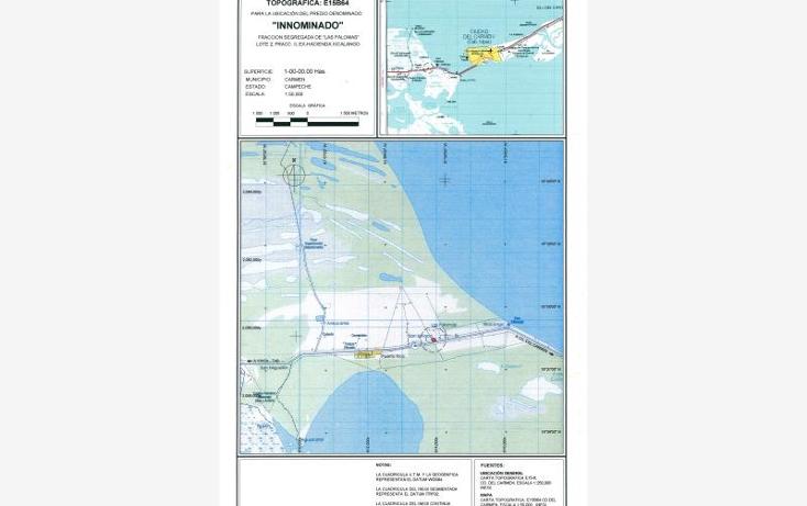 Foto de terreno comercial en venta en zacatal, puerto rico f, puerto rico, carmen, campeche, 733805 No. 01