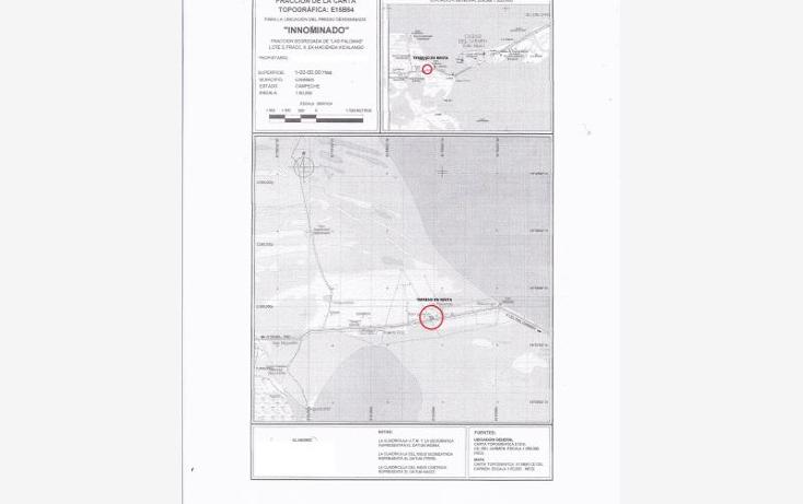 Foto de terreno comercial en venta en zacatal, puerto rico f, puerto rico, carmen, campeche, 733805 No. 02