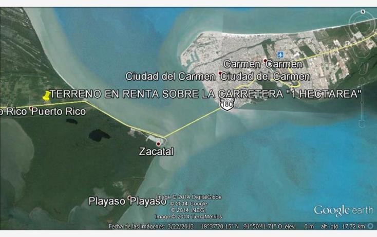 Foto de terreno comercial en venta en zacatal, puerto rico f, puerto rico, carmen, campeche, 733805 No. 04