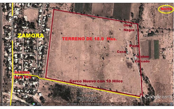 Foto de terreno comercial en venta en  , zamora, hermosillo, sonora, 1130875 No. 01