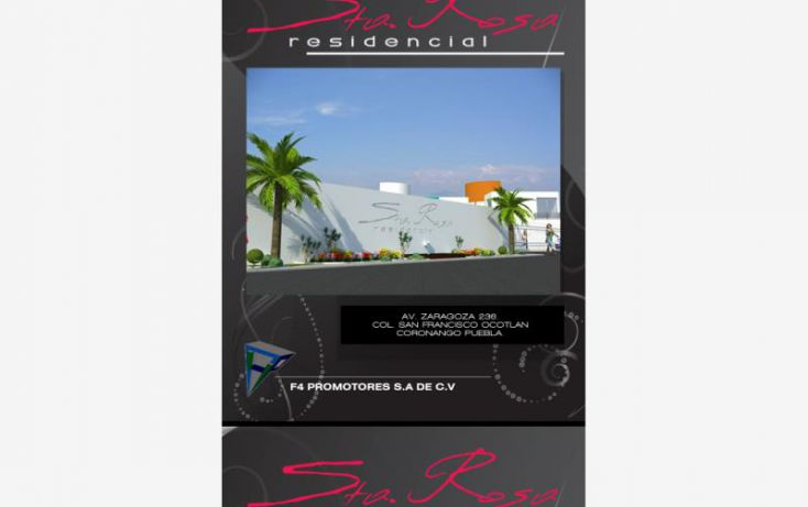 Foto de casa en venta en zaragoza 238, san francisco ocotlán, coronango, puebla, 2042580 no 01