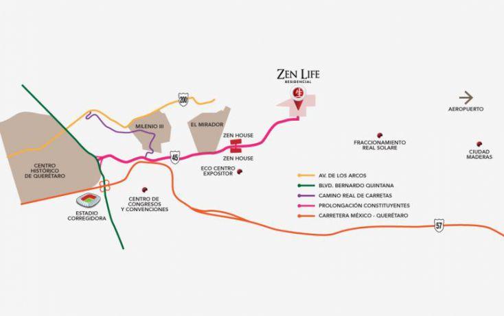 Foto de terreno habitacional en venta en zen life 2, milenio iii fase b sección 11, querétaro, querétaro, 1487161 no 08