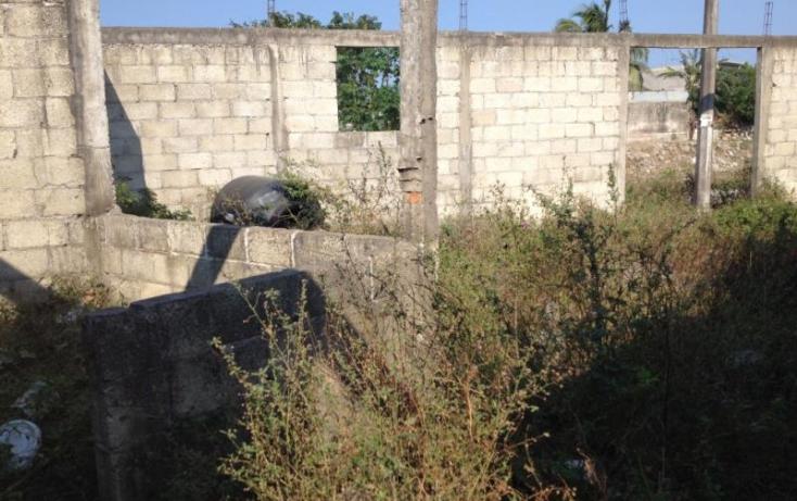 Foto de terreno habitacional en venta en zenzontle 1, 10 de febrero, veracruz, veracruz, 827489 no 02