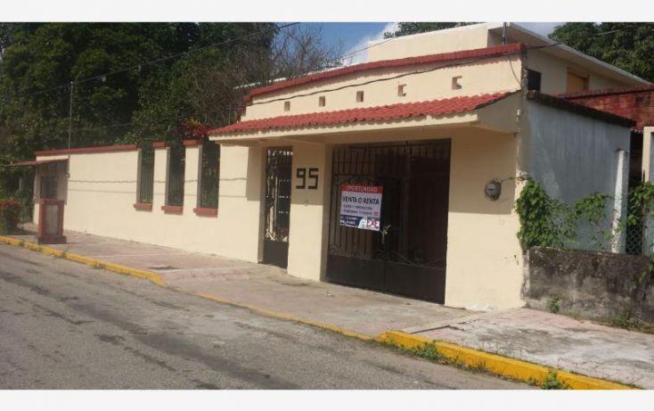 Foto de casa en venta en zona arqueologica, magisterial 2, comalcalco, tabasco, 1591698 no 01