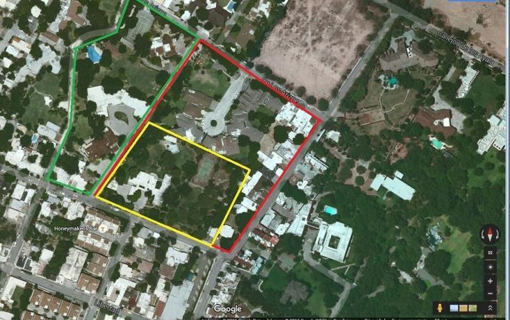 Foto de terreno habitacional en venta en  , zona de los callejones, san pedro garza garcía, nuevo león, 1463629 No. 01