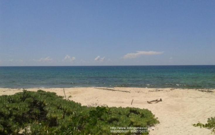 Foto de terreno habitacional en venta en zona federal maritima terrestre 2, puerto morelos, benito juárez, quintana roo, 480728 No. 01
