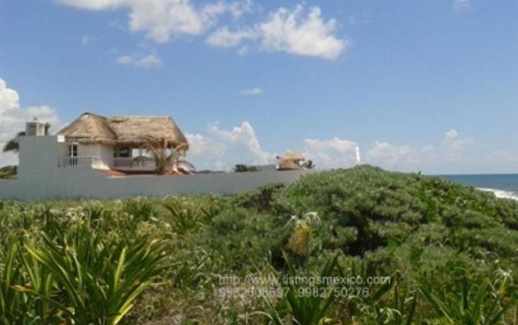 Foto de terreno habitacional en venta en zona federal maritima terrestre 2, puerto morelos, benito juárez, quintana roo, 480728 No. 02