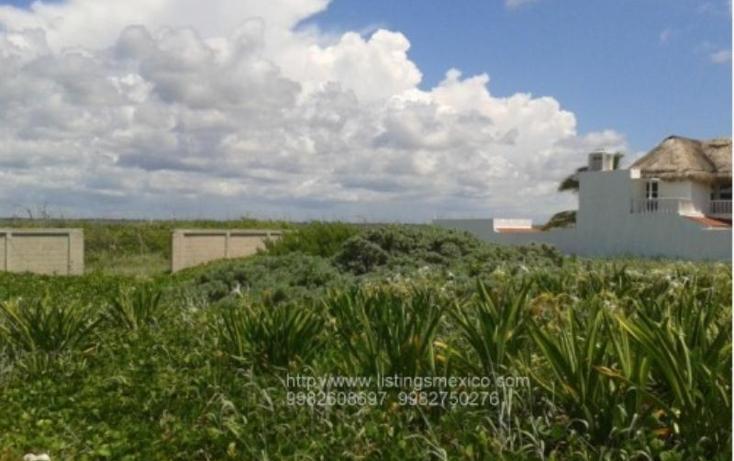 Foto de terreno habitacional en venta en zona federal maritima terrestre 2, puerto morelos, benito juárez, quintana roo, 480728 No. 03
