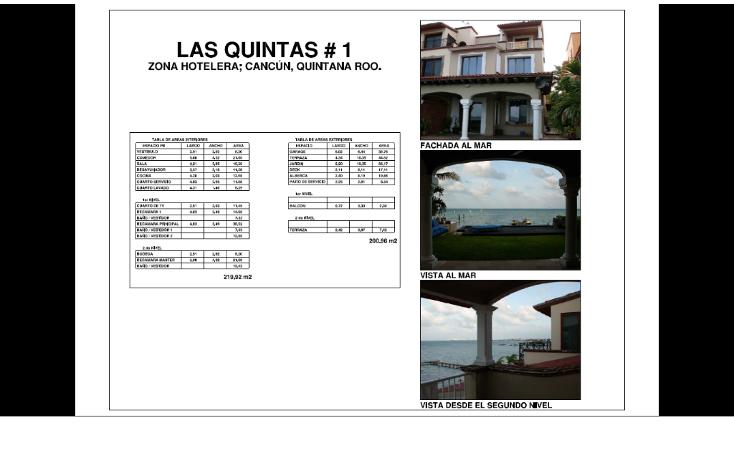 Foto de casa en venta en  , zona hotelera, benito juárez, quintana roo, 1056781 No. 04
