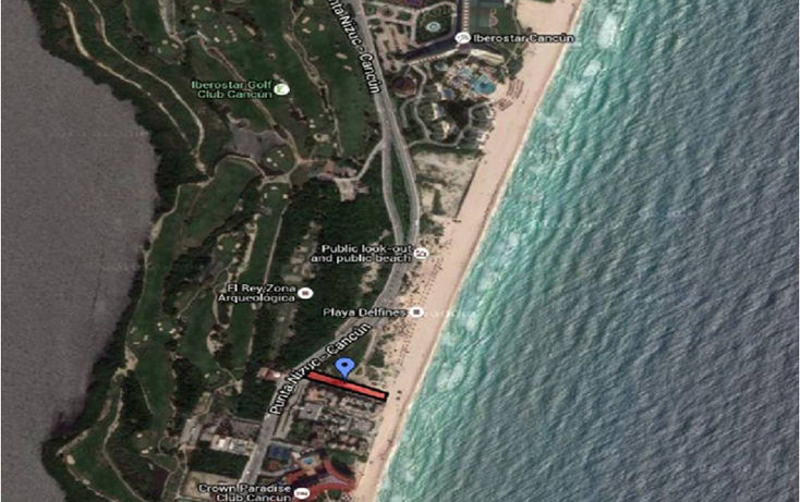 Foto de terreno habitacional en venta en  , zona hotelera, benito juárez, quintana roo, 1165443 No. 02