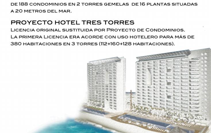 Foto de terreno habitacional en venta en  , zona hotelera, benito juárez, quintana roo, 1417823 No. 03