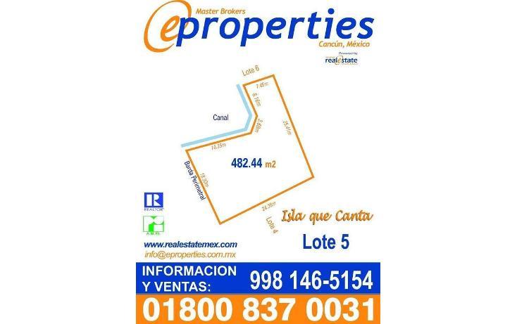 Foto de terreno habitacional en venta en  , zona hotelera, benito juárez, quintana roo, 1691222 No. 01