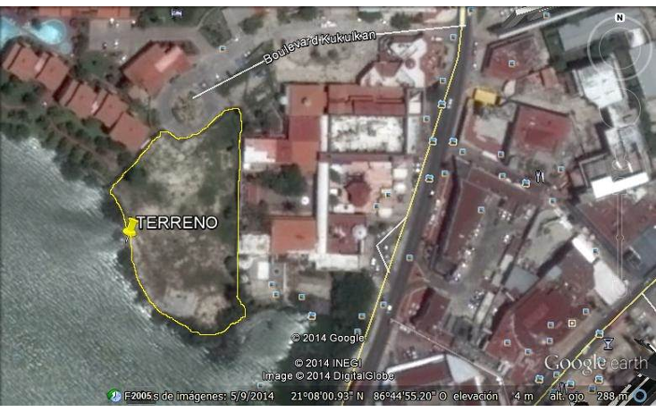 Foto de terreno comercial en venta en  , zona hotelera, benito juárez, quintana roo, 1829164 No. 06