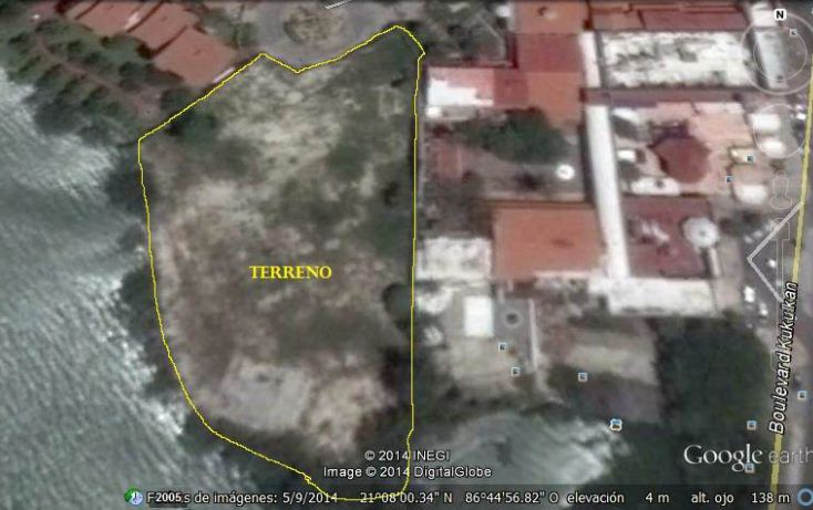 Foto de terreno comercial en venta en, zona hotelera, benito juárez, quintana roo, 1829164 no 07