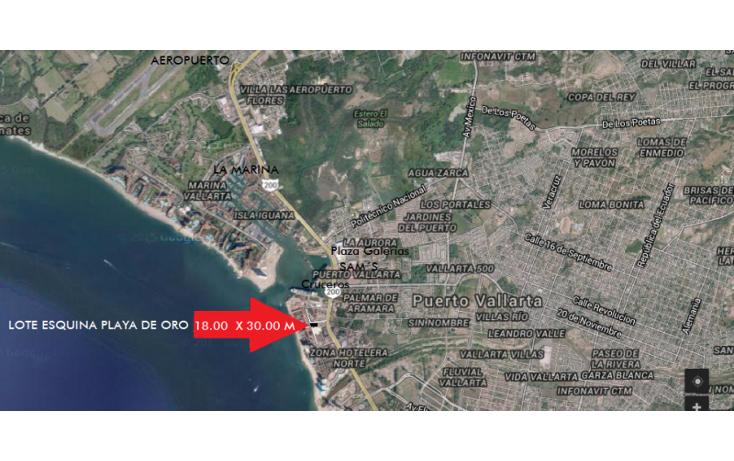 Foto de terreno habitacional en venta en  , zona hotelera norte, puerto vallarta, jalisco, 1005141 No. 01