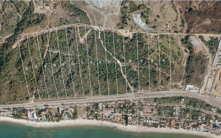 Foto de terreno habitacional en venta en  , zona hotelera norte, puerto vallarta, jalisco, 1407297 No. 01
