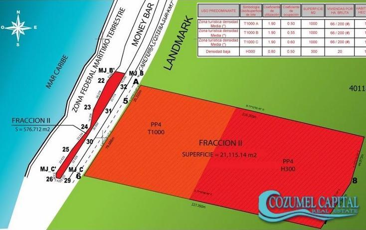 Foto de terreno comercial en venta en terreno mar esmeralda carretera costera sur -, zona hotelera sur, cozumel, quintana roo, 1155493 No. 01