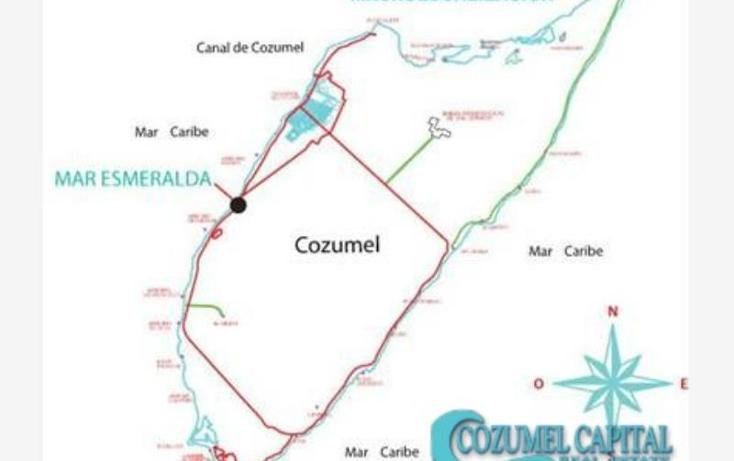 Foto de terreno comercial en venta en terreno mar esmeralda carretera costera sur -, zona hotelera sur, cozumel, quintana roo, 1155493 No. 02