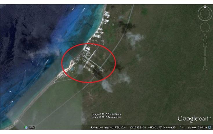 Foto de terreno comercial en venta en  , zona hotelera sur, cozumel, quintana roo, 1631138 No. 01