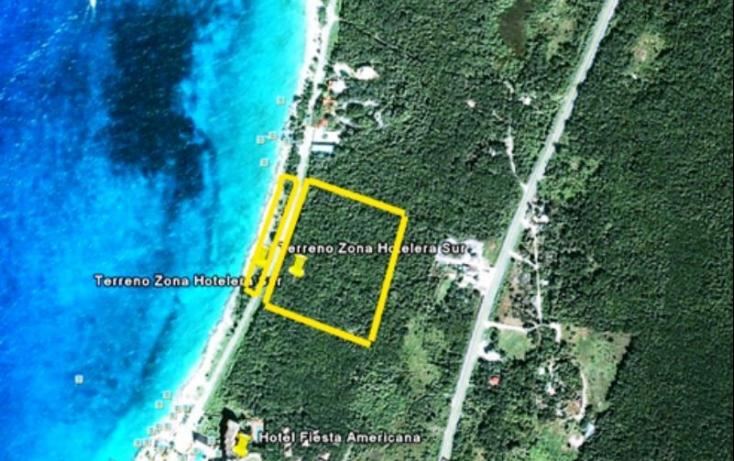 Foto de terreno habitacional en venta en zona hotelera sur, zona hotelera sur, cozumel, quintana roo, 525950 no 02