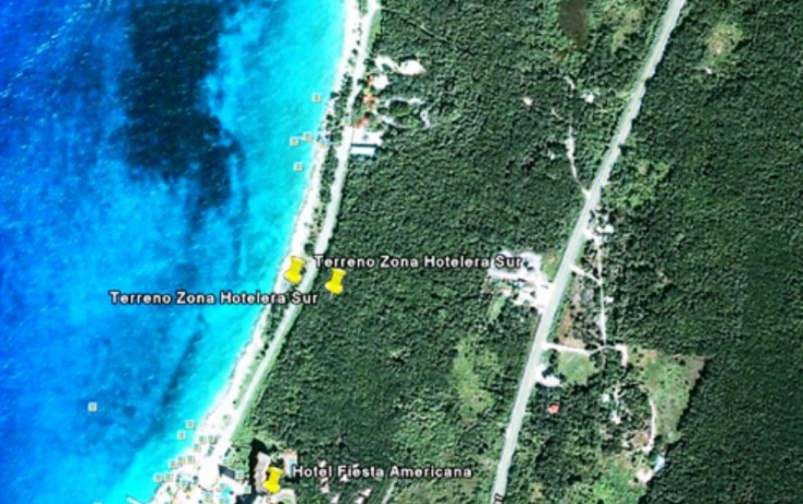 Foto de terreno habitacional en venta en zona hotelera sur, zona hotelera sur, cozumel, quintana roo, 525950 no 03