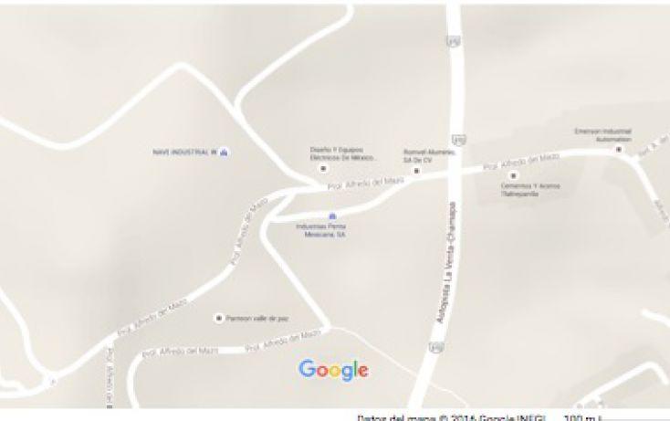 Foto de terreno industrial en venta en, zona industrial 2 méxico nuevo, atizapán de zaragoza, estado de méxico, 1989194 no 01