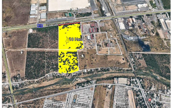 Foto de terreno comercial en venta en  , zona industrial, general escobedo, nuevo león, 1142437 No. 01