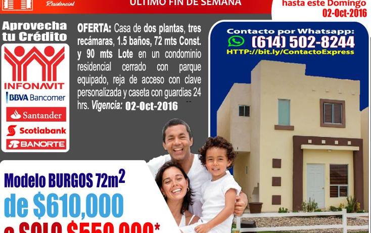 Foto de casa en venta en  , zona industrial nombre de dios, chihuahua, chihuahua, 1393049 No. 03