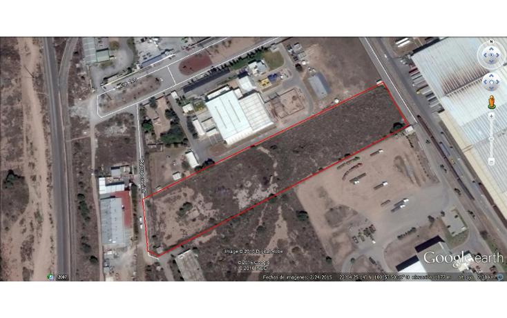 Foto de terreno comercial en venta en  , zona industrial, san luis potosí, san luis potosí, 1562536 No. 01