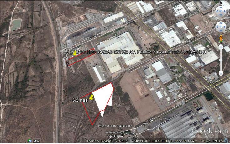 Foto de terreno comercial en venta en  , zona industrial, san luis potosí, san luis potosí, 1562536 No. 02