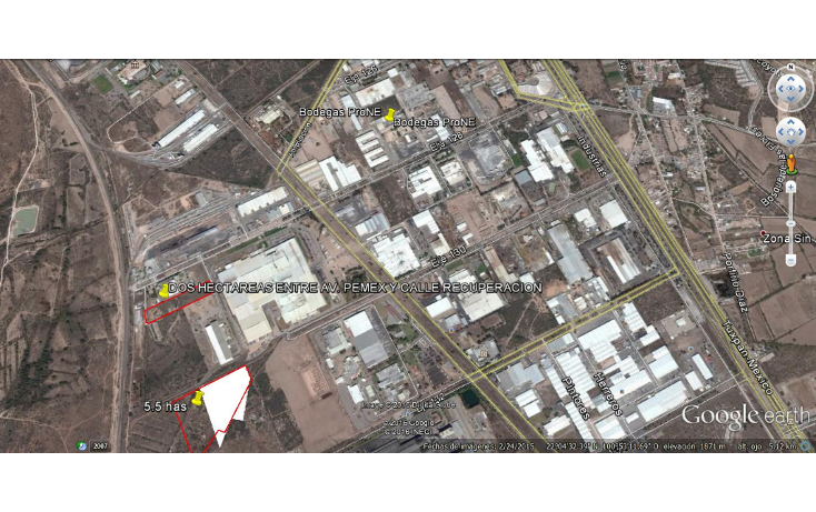 Foto de terreno comercial en venta en  , zona industrial, san luis potosí, san luis potosí, 1562536 No. 03