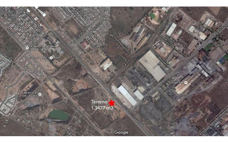 Foto de terreno comercial en venta en  , zona industrial, san luis potosí, san luis potosí, 2008664 No. 01