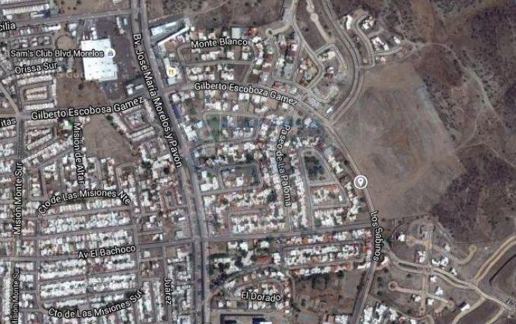 Foto de terreno habitacional en venta en zona norte, la paloma, hermosillo, sonora, 988889 no 03