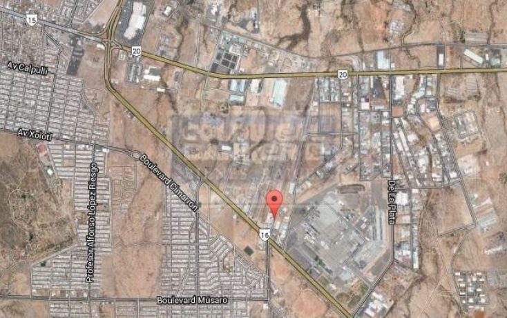 Foto de terreno habitacional en venta en zona parque industrial, parque industrial, hermosillo, sonora, 606038 no 02