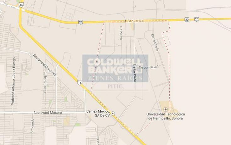Foto de terreno habitacional en venta en zona parque industrial, parque industrial sonora, hermosillo, sonora, 428683 no 05