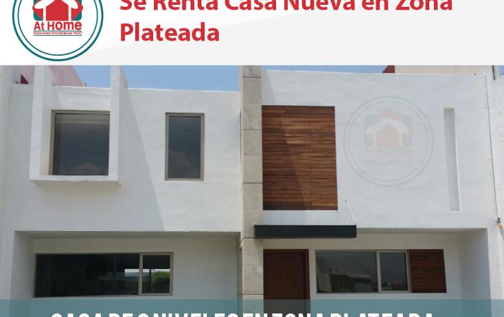 Foto de casa en renta en  , zona plateada, pachuca de soto, hidalgo, 1294089 No. 01