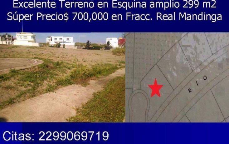 Foto de terreno habitacional en venta en zona sur 11, real mandinga, alvarado, veracruz, 1473299 no 02