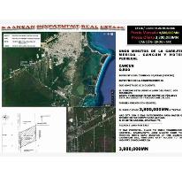 Foto de terreno habitacional en venta en 0000 0000, alfredo v bonfil, benito juárez, quintana roo, 2657024 No. 01