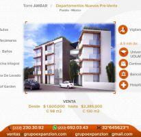 Foto de departamento en venta en 1 1, alta vista, san andrés cholula, puebla, 1486247 no 01