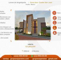 Foto de casa en venta en 1 1, alta vista, san andrés cholula, puebla, 1543862 no 01