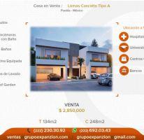 Foto de casa en venta en 1 1, alta vista, san andrés cholula, puebla, 1566642 no 01