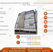 Foto de departamento en venta en 1 1, alta vista, san andrés cholula, puebla, 1612836 no 01