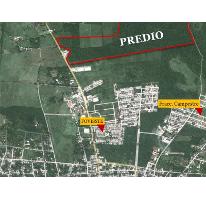 Foto de terreno habitacional en venta en 1 1, campestre san francisco, tizimín, yucatán, 2664929 No. 01