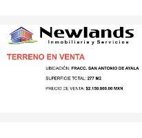 Foto de terreno habitacional en venta en  1, san antonio de ayala, irapuato, guanajuato, 2807547 No. 01