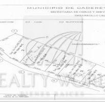 Foto de terreno habitacional en venta en 1, valle de cadereyta, cadereyta jiménez, nuevo león, 1858947 no 01
