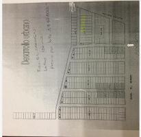 Foto de terreno habitacional en venta en hidalgo 100, el carmen, pachuca de soto, hidalgo, 2689018 No. 01